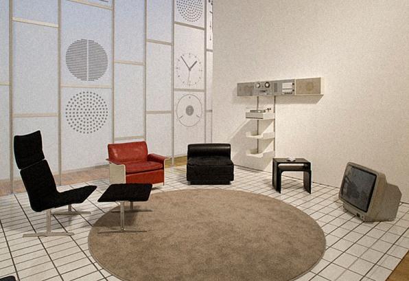 Vitsœ Furniture And Braun Electronics On Display At Londonu0027s Design Museum  In 2009
