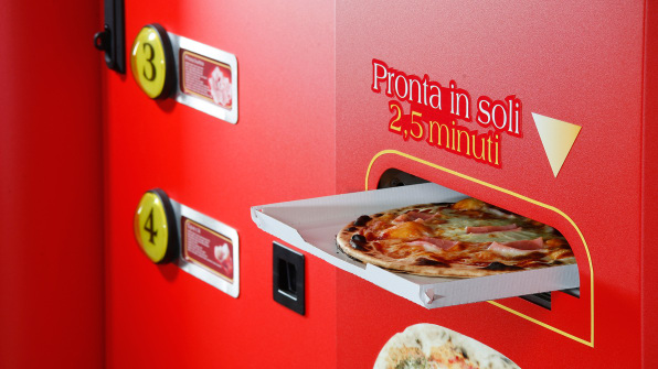 This Vending Machine Will Make You A Fresh Pizza From Scratch
