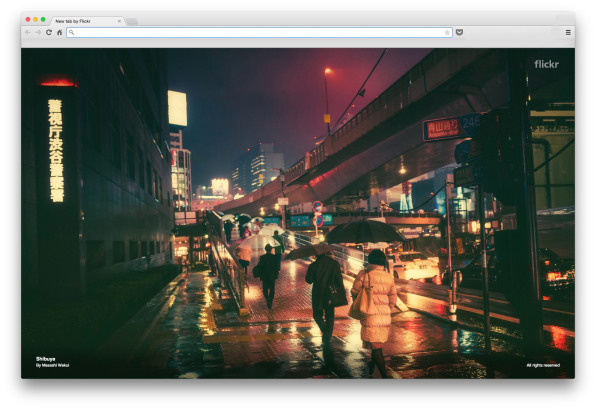 Yahoo Fills Your Empty Browser Tabs With Flickr's Most Beautiful Photographs