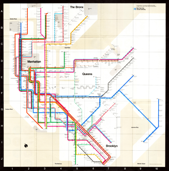Nyc 70s Subway Map.A Rare Interview With Graphic Design Legend Massimo Vignelli