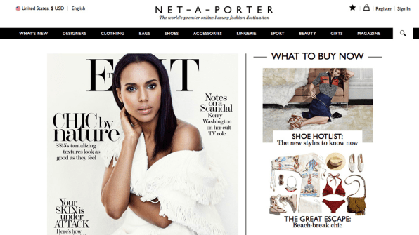 "2887296c9b97 Net-A-Porter Merger Could Create ""World s Biggest Luxury Fashion Store"