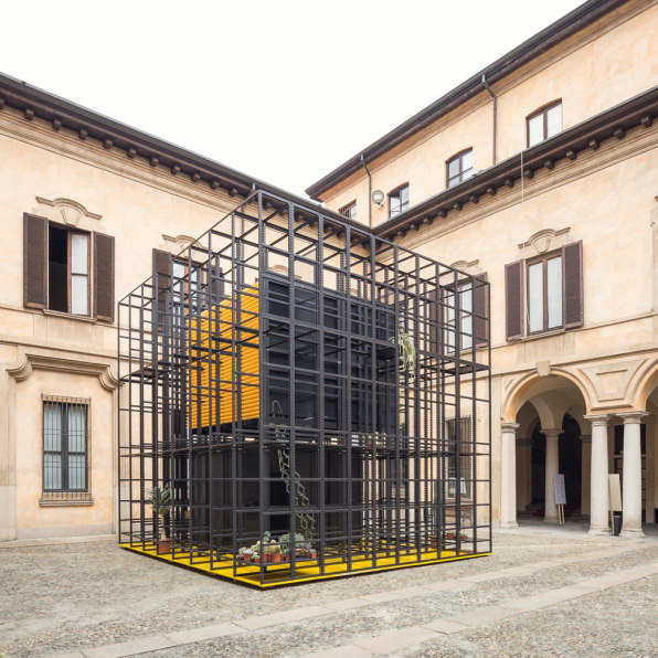 This Cage House Locks Out Digital Spies