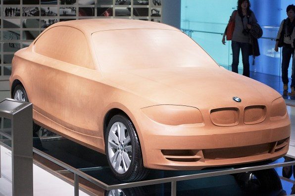 Why The Car Industry Still Builds Life-Size Clay Models