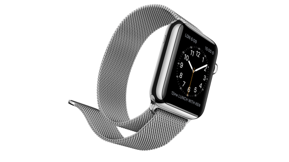 824ae91a0b8 The Apple Watch model I tried  stainless-steel case and Milanese loop  bandPhoto  courtesy of Apple
