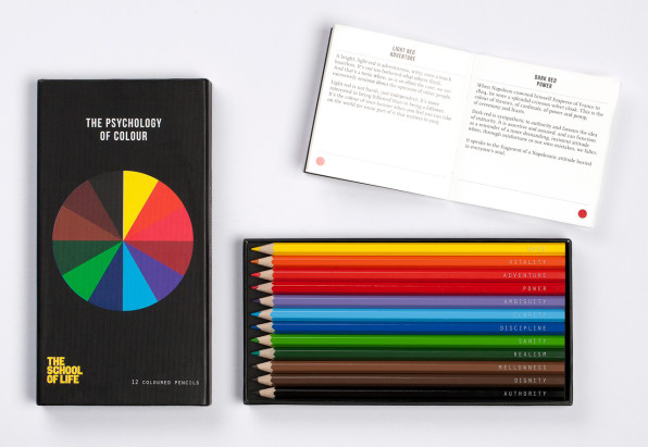 The Psychology Of Color, Summed Up In A Box Of Pencils