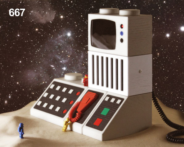 Retro Lego Gadgets Blown Up Into Real, Working Computers