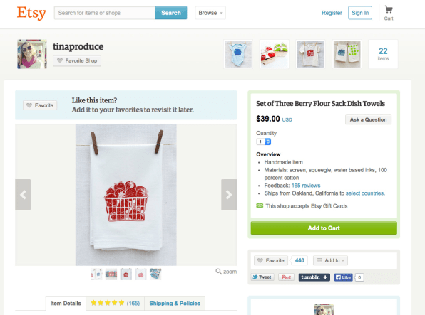 Etsy Wants To Bring Its Handmade Wares To A Brick-And-Mortar Chain Sto