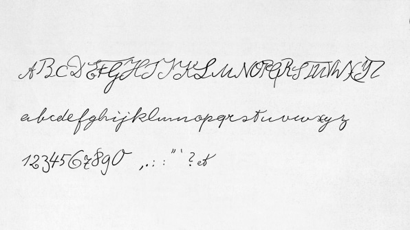 Albert Einstein's Handwriting Is Now A Font