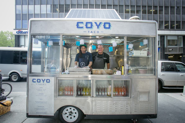 New York's New Solar-Powered Food Carts Are Cool–But Wait Until They R
