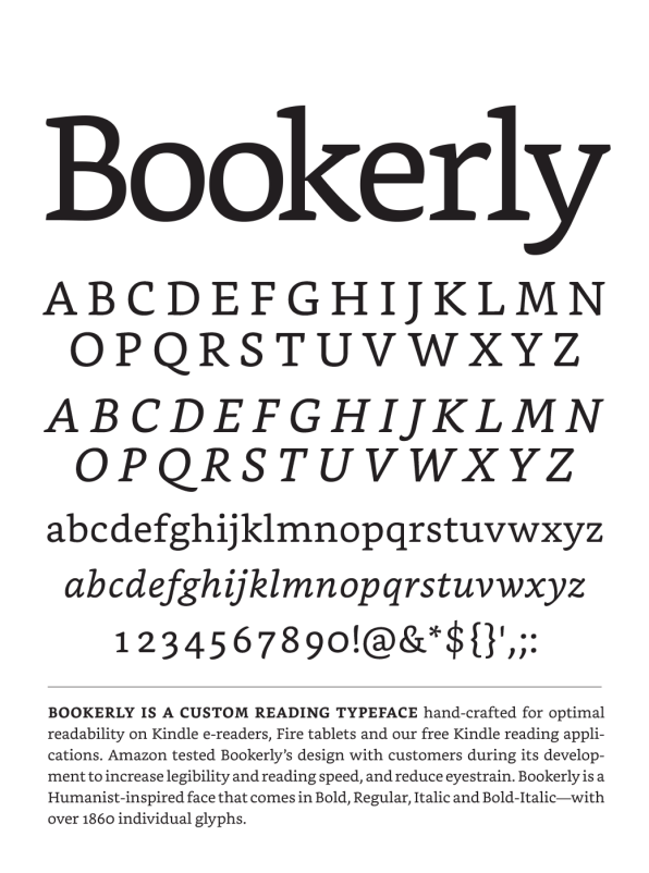 Many Different Types Of Screens As Possible Like Googles Literata Bookerly Is Meant To Address The Aesthetic Issues Surrounding E Book Fonts