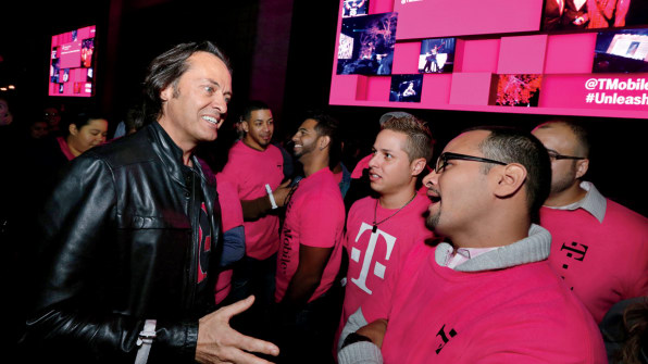 Who The @!#$&% Is This Guy? John Legere's Strategy For
