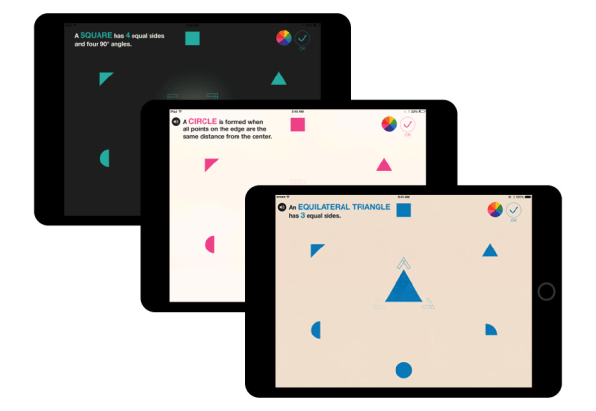 Bauhaus-Inspired iPad App Teaches Kids Colors And Shapes