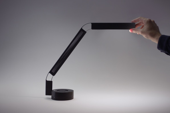 This Designer Desk Lamp Has No Moving Parts, But It Can Simulate Sunsets