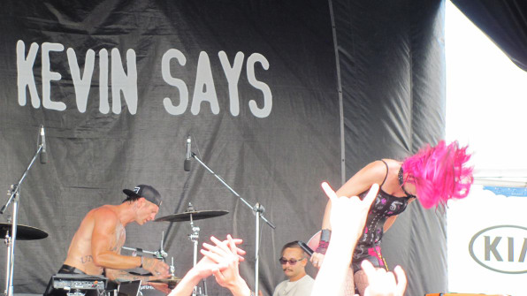 4f50b91e23 The band Icon for Hire on the Kevin Says stage during Warped Tour 2014Photo   Flickr user Danielle Hevey