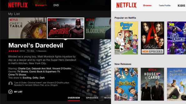 """Netflix Has Redesigned To Pitch You Harder On """"House Of Cards"""""""
