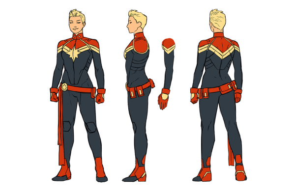 A First Look At The New Captain Marvel Written By Agent Carter Show