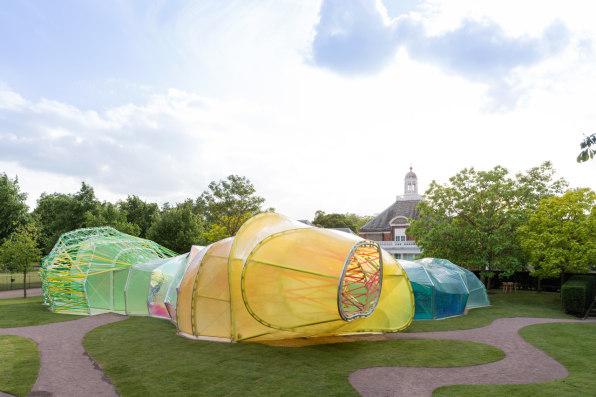 Yes, The Serpentine Pavilion Still Looks Like Rainbow Poop