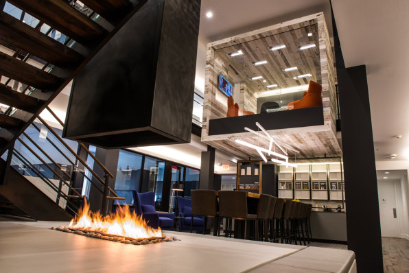 Private Equity Firm's New Office Channels A Posh Ski Retreat