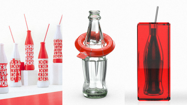 12 Hotshot Designers Reimagine The Iconic Coke Bottle