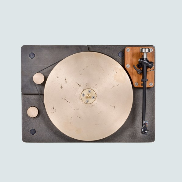 100-Pound Cast Iron Turntable Promises To Sound As Good As It Looks