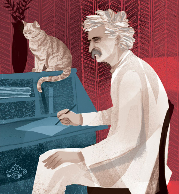 An Illustrated History Of Famous Men And Their Cats