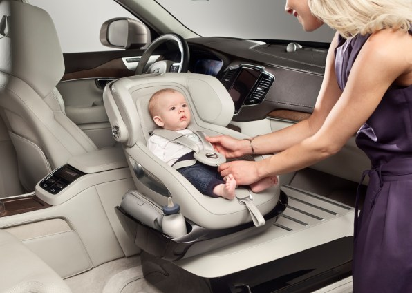 Volvo Designs A Safer Way For Kids To Ride In The Front
