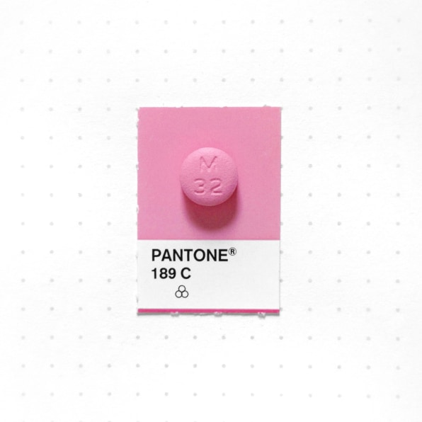 20 Tiny Objects Color-Matched With Pantone Chips