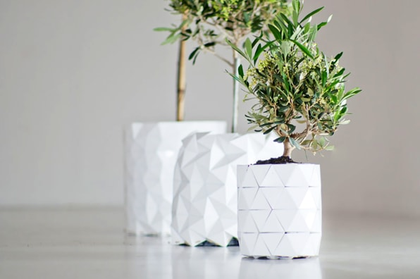 How to make a 3D Origami Vase • Art Platter | 396x596