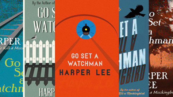 "The Rejected Covers Of ""Go Set A Watchman"""