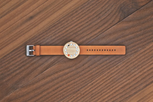 Clever Wooden Watch Shows Some Of The Best Interaction Design Is Analog
