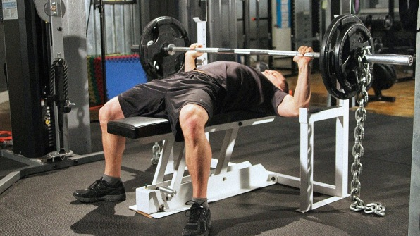 This Car Jack Inspired Weight Bench Makes Getting Jacked Safer