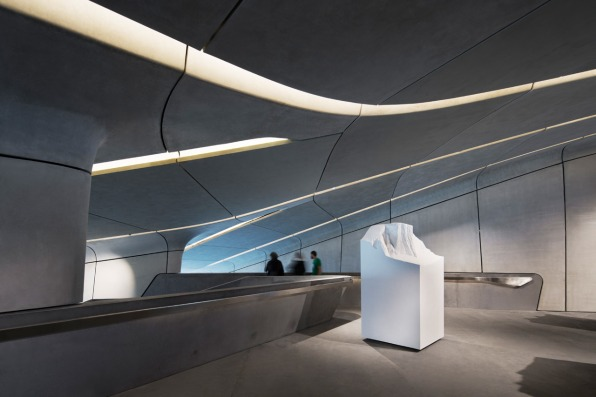 Zaha Hadid's Latest Building Is Stuffed Inside A Mountain