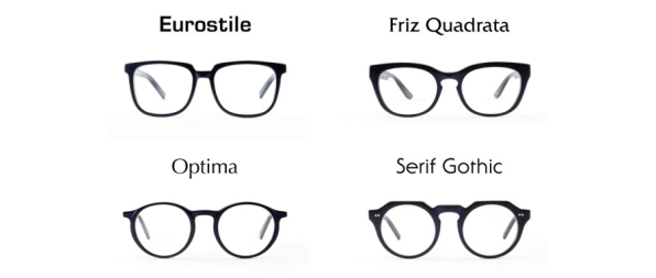 You Can Buy Glasses Inspired By Famous Typefaces