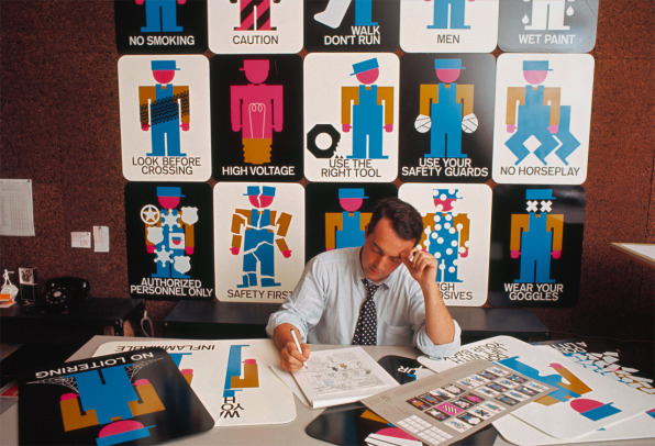 How Wayfinding Guru Lance Wyman Defined the Field of Environmental Graphics