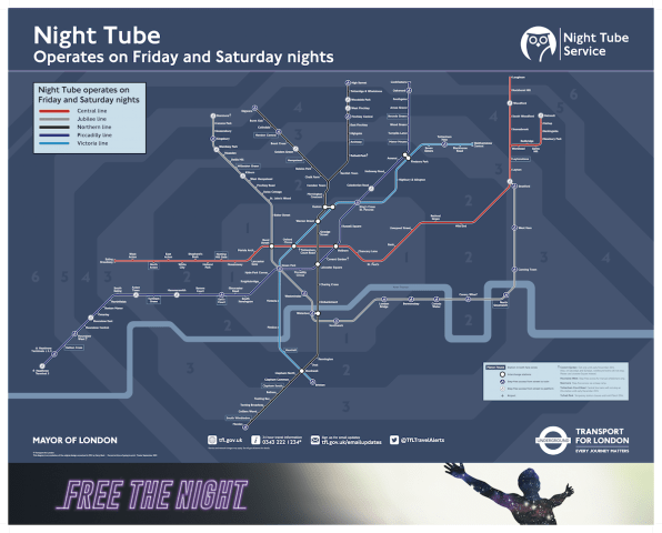 Bajar Subway Map De Ny.How London S New Night Tube Map Was Made