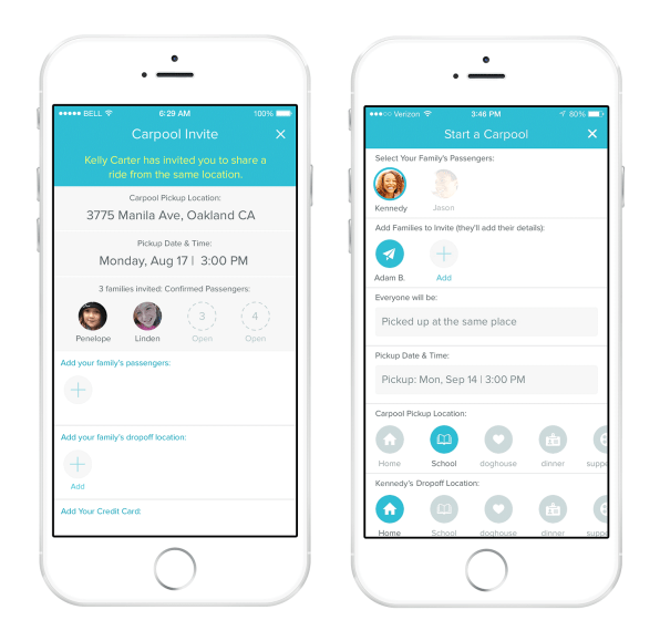 Shuddle Launches A New Carpooling Feature For Kids Developed By Mom E