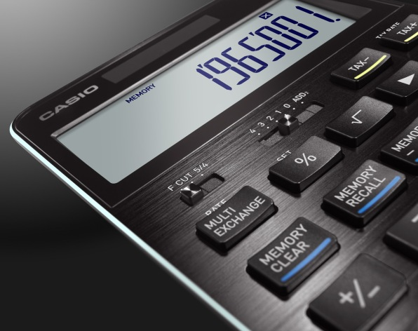 Casio's Latest Calculator Is The Best-Looking Number Cruncher Since Dieter Rams
