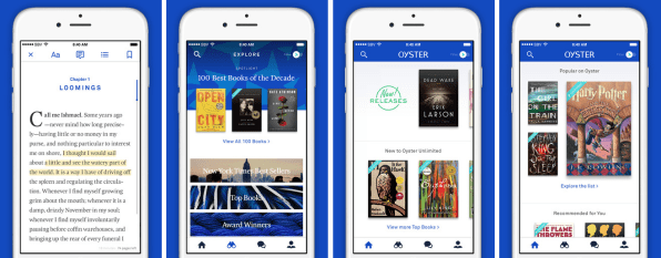 E-Book App Oyster Is Closing Shop As Google Hires Its Cofounders