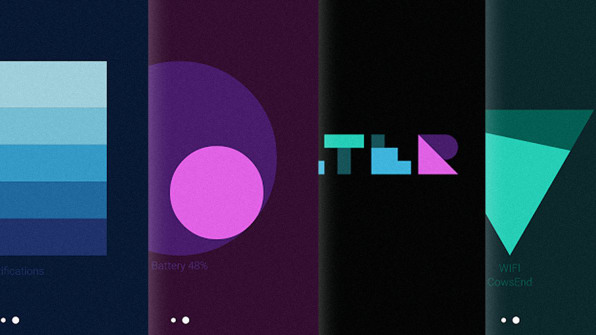 Android S New Material Design Wallpapers Visualize Data
