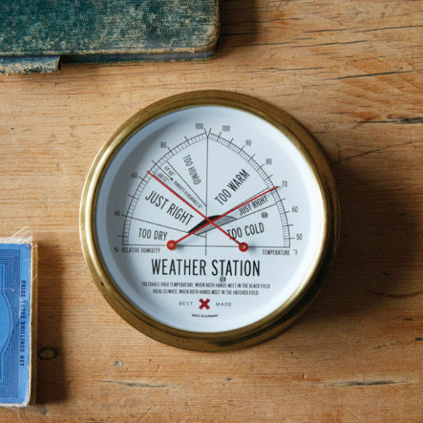 Best Made's Weather Station Tells You When It's Just Right Outside