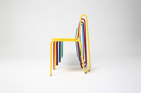 These Elegant Wire Frame Chairs Pay Homage To Picasso Line Drawings