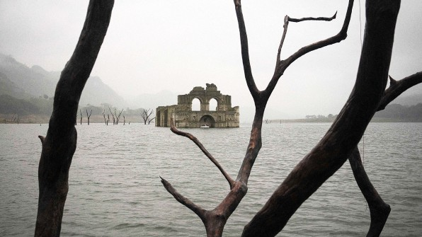 The Mexican Drought Caused This Mysterious Sunken Temple To Re-Emerge