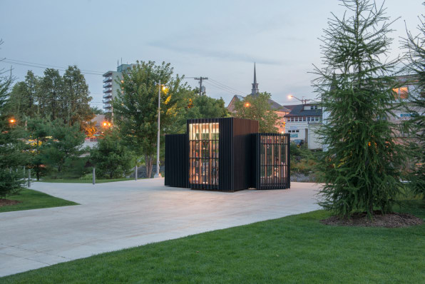 Here's A Novel Idea: A Pint-Size Lending Library As A Placemaking Intervention
