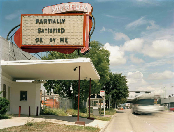 Who's Leaving Mysterious Messages On Old Marquees Across The U.S.?
