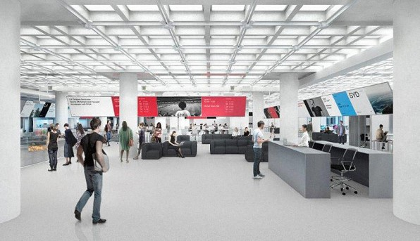 Greenberg Enlisted Foster And Partners To Spearhead The Design Open Plan Office Encompasses Two Floors That Are Each Bigger Than A Football Field