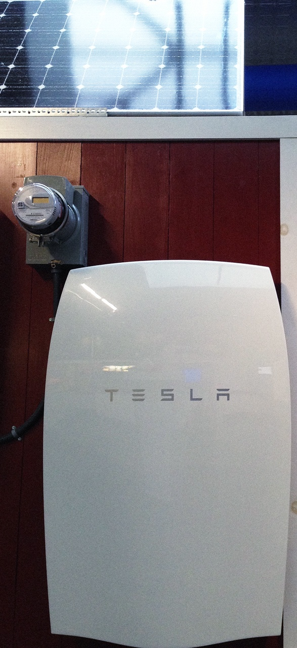 Vermonters Are Installing The First Tesla Home Batteries, Preparing For Winter