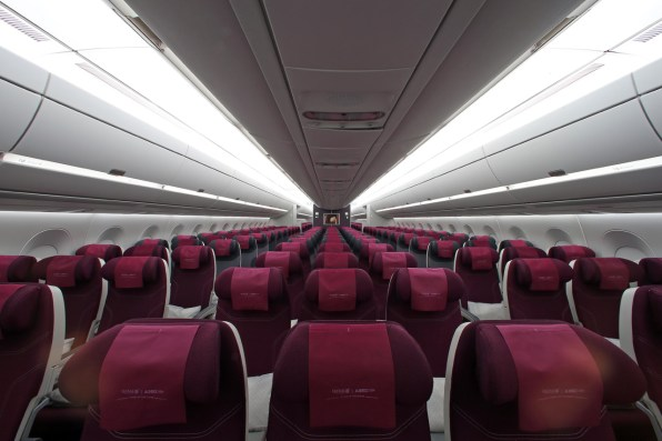 Airbus And Qatar Airways Debut A Carbon Fiber Plane That Curbs Jet Lag
