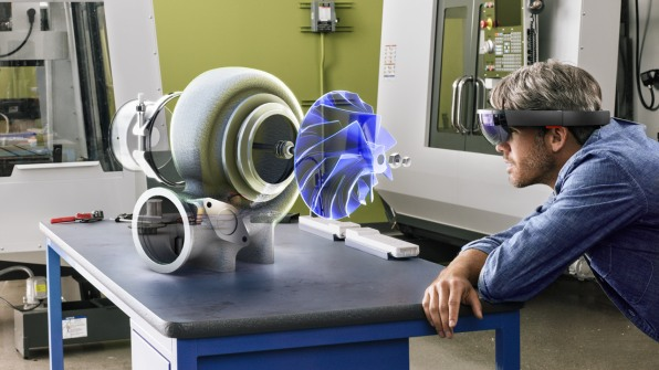 In Microsoft's HoloLens, A Glimpse At The Future Of Interaction Design