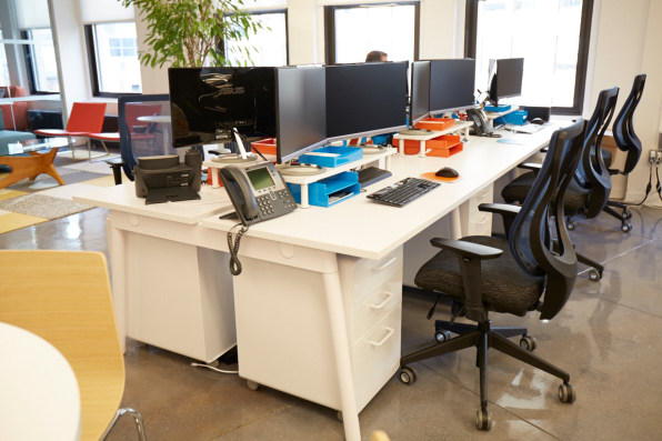 office configurations. Photo: Courtesy Of DOAR Office Configurations