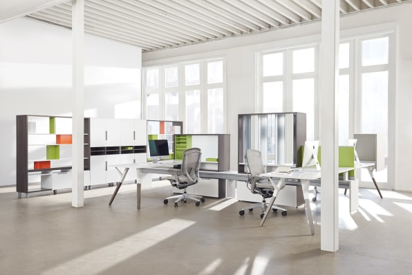 office space design. Photo: Courtesy Of Teknion Office Space Design